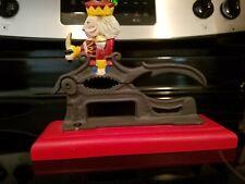 Midwest Importers Cast Iron Wood Nutcracker Figurine w/ Handle Xmas