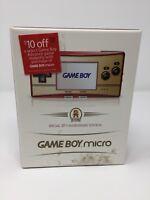 NEW! 20th Anniversary GAMEBOY Micro Famicom Edition - Nintendo GBA US Version