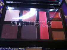 LAURA MERCIER FACE COLOR kit PALETTE BLUSH LIP LINER GLOSS EYESHADOWS bag new