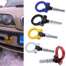 Black Racing Tow Towing Hook Car Auto Trailer Ring for Universal BMW European