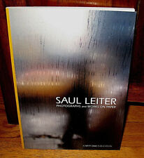 New Saul Leiter PHOTOGRAPHS and WORKS ON PAPER Second EDITION 2016 PB Catalogue