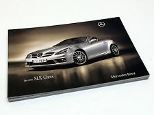 2011 Mercedes-Benz SLK-Class 300 350 55AMG R172 Brochure