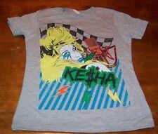 WOMEN'S JUNIOR TEEN KE$HA T-shirt SMALL NEW Kesha