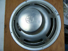 """Vintage 12"""" woofer Speaker 1203A wide range Hi-Fi GE 8 ohm 25w alnico"""