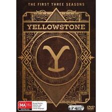 Yellowstone The First Three Seasons 1 2 3 Region 4 DVD