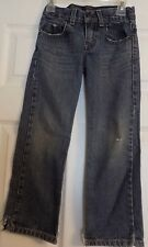 Boy's Levi Strauss Levi's Signature Straight Denim Blue Jeans Size 7 Regular