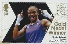 British Stamps - Sg 3365-Gb 2012 Olympics Nicola Adams Boxing Fly weight Gold