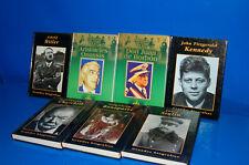 GRANDES BIOGRAFIAS-lote de 7 libros-Politicos-dictadores y Gobernantes