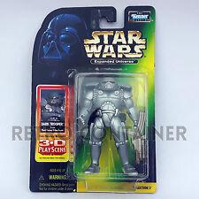 STAR WARS Kenner Hasbro Action Figure - POTF POTF2 - Expanded SOTE Dark Trooper
