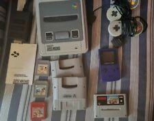 Nintendo Konvolut SNES Game Boy Color Mario Kart Super Game Boy Controller