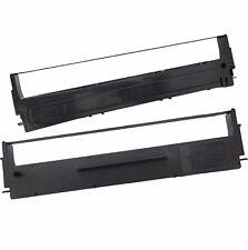 Epson Mx Fx Lq MX80 FX80 LQ570 LQ800 LQ870 LQ300 7753 Cassette de cinta de Tinta Negra