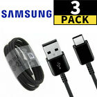 3-Pack For Samsung USB Type C Fast Charging Cable Galaxy S8 S9 S10 Plus Note 8 9