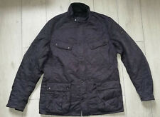 "Barbour International ""XXL"" Ariel Polarquilt Mens Jacket Navy Coat Fleece Lined"