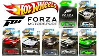 HOT WHEELS XBOX FORZA MOTORSPORT DIECAST COLLECTION CARS DWF30 SCALE 1:64 CHOOSE