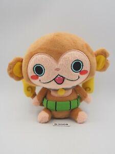 "Yokai Watch B3008 Chimpanyan Sarunyan Bandai Kuttari 5"" Plush Toy Doll Japan"