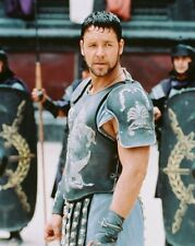 Russell Crowe Gladiator In Battle 8X10 Color Photo