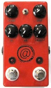 Used JHS Andy Timmons Plus Channel Overdrive Distortion Guitar Effects Pedal AT+