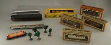 ORIGINAL CIRCA. 1970'S - 1980'S TYCO TRAINS PARTS AND ACCESSORIES LOT CARS ETC.