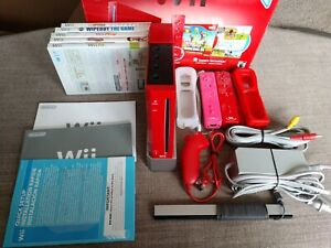 Nintendo Wii Limited Edition Red Console