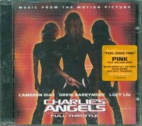 Charlie'S Angels  Throttle Ost - Pink/William Orbit/David Bowie Cd Vg