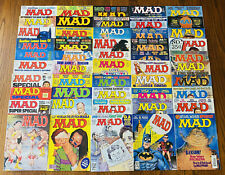LOT: 50 MAD MAGAZINES FROM THE 1970s 1990s Spans #238-354 1975-1997 WWF WWE