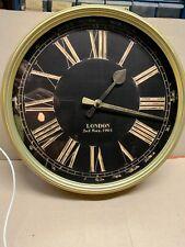 LONDON 2ND MAY, 1905 WALL CLOCK