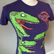 Drop Dead Clothing - Raptors Purple Tshirt Girls Small Rare Oliver Sykes