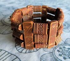 Women African Ethnic Tribal 3 Strands Bracelet