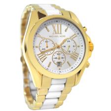 Michael Kors MK 5743 Women's Bradshaw Chronograph Watch, Gold, One Size