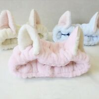 Lovely Cute Headdress Spa Makeup Tools Party Fluffy Headband Cat Ears Hair Band