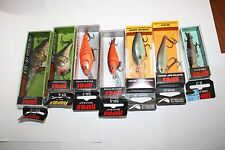 New Fishing lure Rapala DT10 DT 6 Shad Rap Original Floater (7) Lot