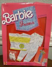 """BARBIE 1988 """"JEANS FASHIONS"""" OUTFIT FOR KEN - DRESSED-UP DENIM BLUES - NRFB"""
