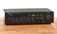 Yamaha A-460 Stereo Verstärker / Amplifier in schwarz