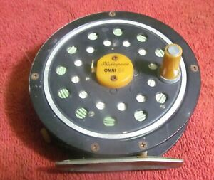 Shakespeare Omni 44 Fly Reel - Used - Works - Comes with Line and Leader