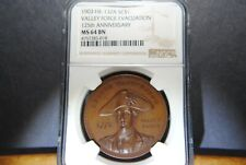 1903 Valley Forge, 125th Anniversary of Evacuation,  HK-132A - NGC MS64 - R-5