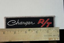 "Charger R/T Iron-on Embroidered Patch 4.75"" Vintage NOS"