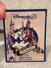 Disneyland Paris 25th Anniversary Marie Aristocats  Pin Second In Series LE 700