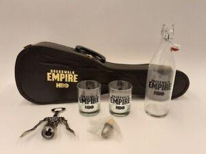 HBO Boardwalk Empire Promotional Guitar Case Bar Set