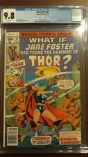 What If J Foster Had Found The Hammer of Thor? (WI V1#10 CGC 9.8) by Comic Blink