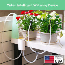 Automatic Watering Plant Drip Irrigation Tool Water Pump Sprinkler System Garden