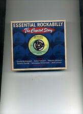 ESSENTIAL ROCKABILLY - THE CAPITOL STORY - GENE VINCENT - 2 CDS - NEW!!
