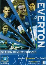 Everton Season Review 2005 / 06. Soccer / Football. Features Tim Cahill. NEW