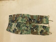 US  ARMY WOODLAND BDU PANTS SIZE X SMALL-SHORT
