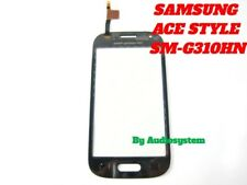VETRO+TOUCH SCREEN per SAMSUNG GALAXY ACE STYLE G310 SM-G310HN NERO LCD DISPLAY