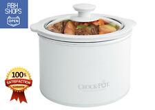 Mini Crock Pot Slow Cooker Portable Best Small Size Dipper 1.5Q Easy Cook Travel