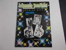 * SHEET MUSIC POPULAR HITS songbook  BEE GEES-NAT COLE-ANNE MURRAY-DIAHANN CARRO