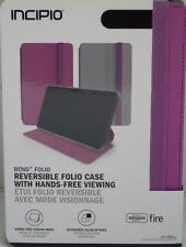 Amazon Kindle Fire HD 7 4th Gen Incipio Bend Reversible Folio Case Pink 2014