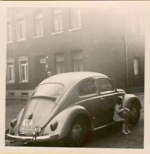 (102) 3 Fotos mit alten Autos Oldtimer VW Käfer
