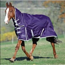 "Shires Winter Highlander 200 Combo Full Neck Turnout Rug 4'3"" Navy/Silver Last 1"