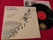 LP Rudi Kellerer Elisabeth Krojer Abheb'n Germany +Insert | M- to EX